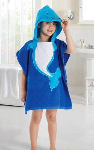 5 Colors Baby Hooded Poncho/Animal Cartoon Children's Beach Towel - StrawberryDaze