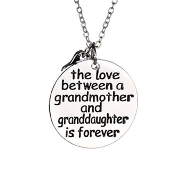 The Love Between a Grandmother and Granddaughter is Forever