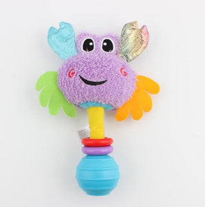 Soft Baby Hand Rattles & Educational Toy for Baby - StrawberryDaze