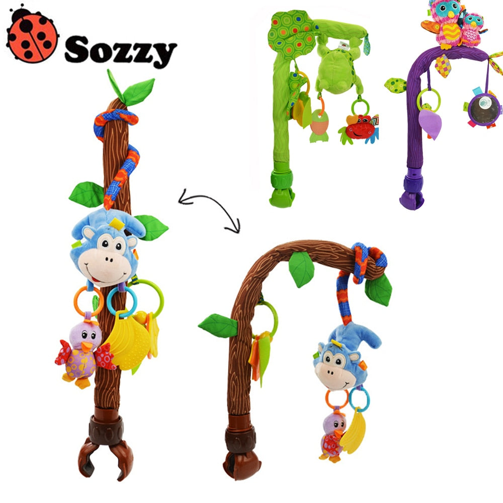 Sozzy Baby Stroller/Bed/Crib Hanging Toys - StrawberryDaze