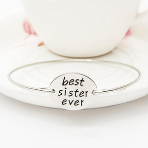 Best Sister Ever Bangle - StrawberryDaze