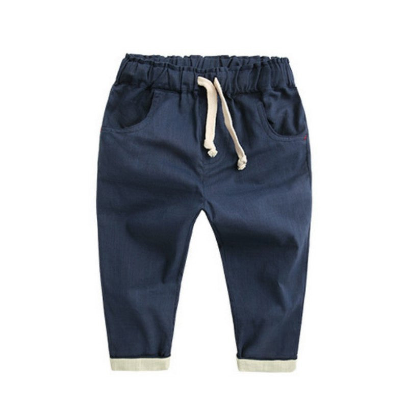 Cotton Pencil Pants For Girls & Boys - StrawberryDaze