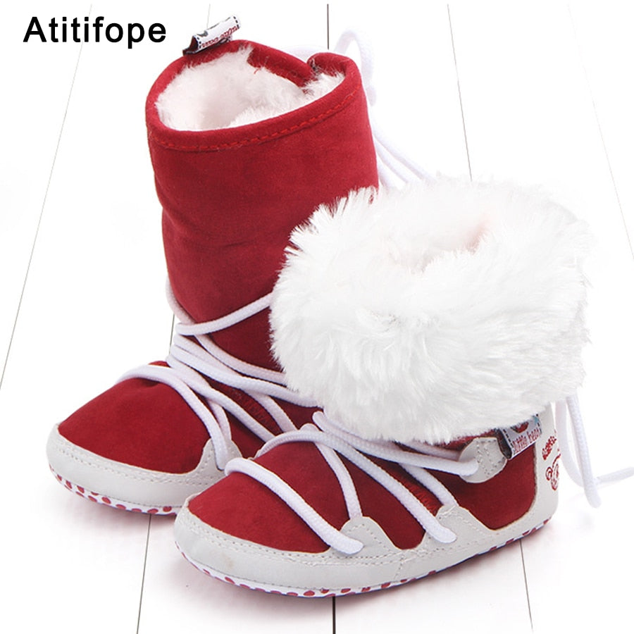 Fashion Baby Soft Winter Fleece Boots