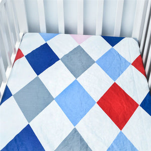 100% Cotton Crib Fitted Soft Sheet