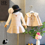Striped Jacket & Dress 2PCS Suits - StrawberryDaze