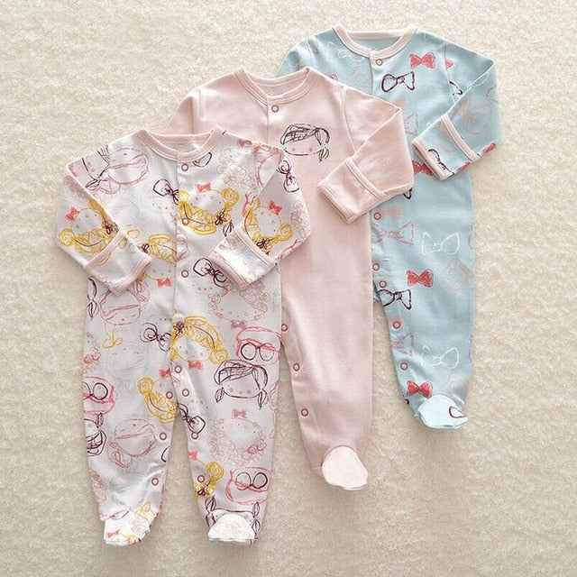 Assorted Rompers 3pcs