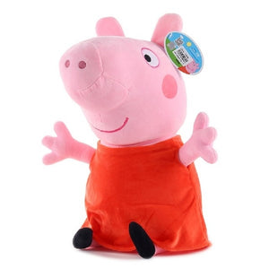 Peppa Pig & George With Peppa Pig Family Plush Toys