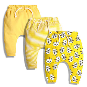 Baby Harem Pants For Boys & Girls 100% cotton 3pcs/set - StrawberryDaze