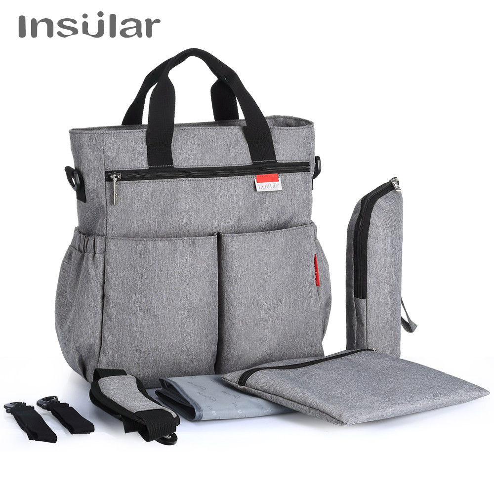Stylish Design Multi-Function Diaper Bag