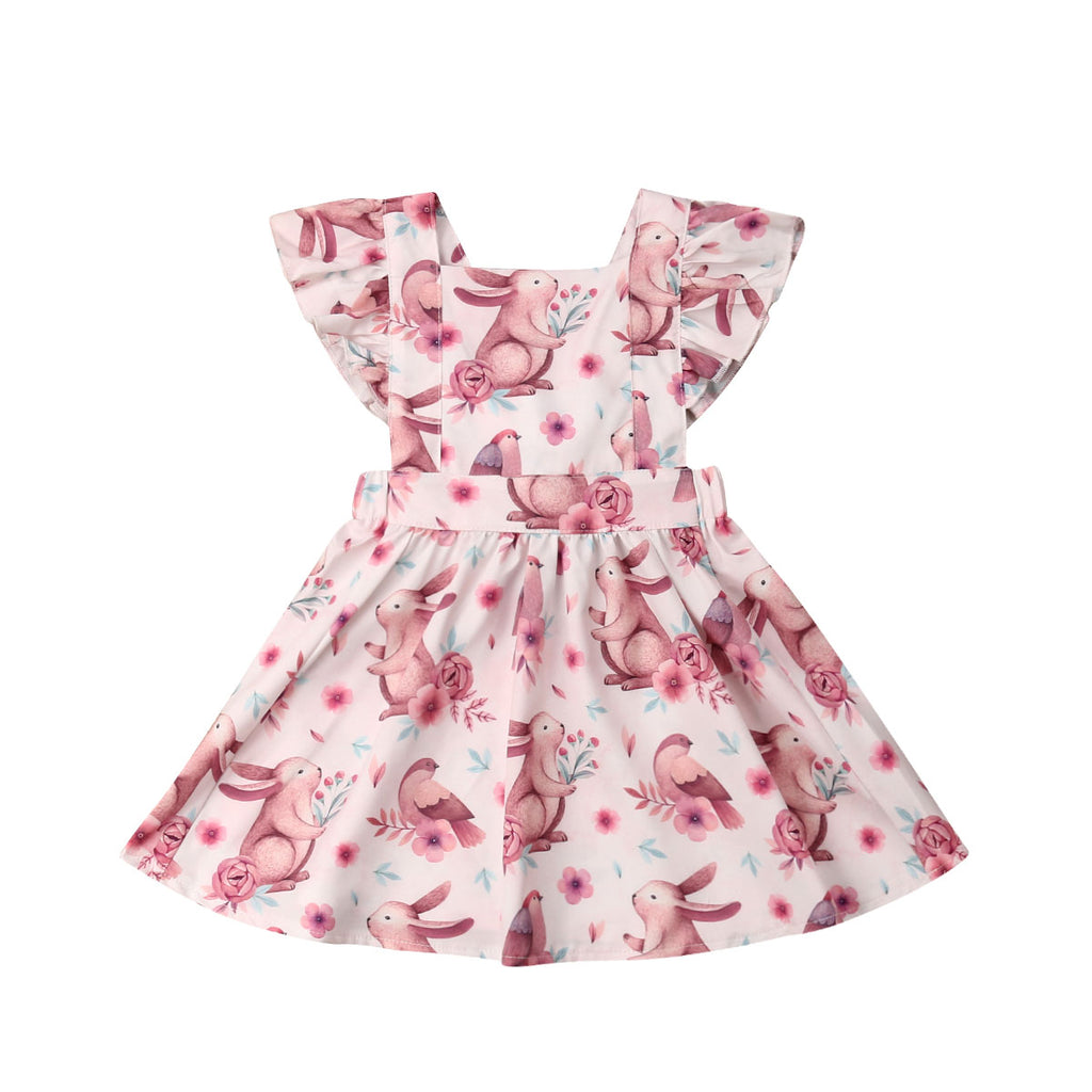 Easter Bunny Baby Dress