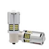 1156 (BAY15S) Canbus LED Bulb - 60 SMD LED with Lens (2 pack)