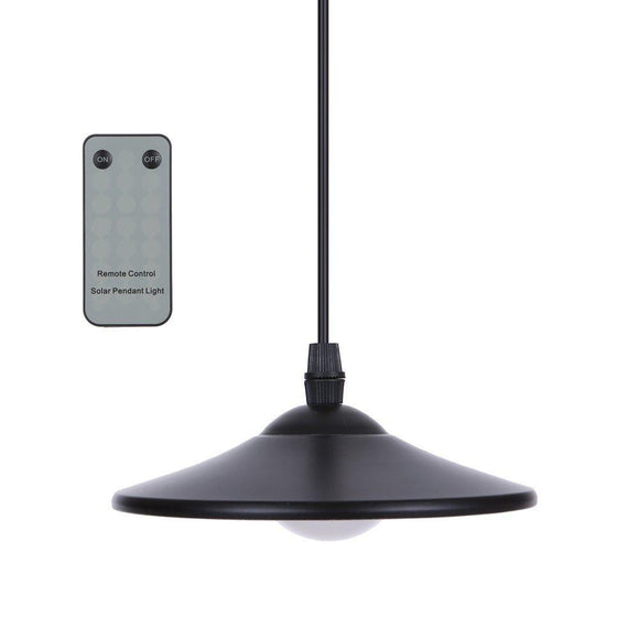 Hanging Solar Powered LED Light - 4 LED - Remote Control