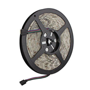 5050 RGB LED Strip Light - Color Changing LED Tape Light - 12V - 5M/16ft