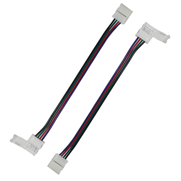 2 Piece RGB 5050 LED Light Strip Connector