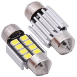 31mm Canbus Festoon LED Bulb - 8 SMD (2 Pack)