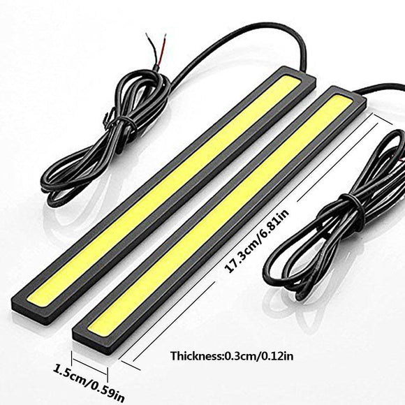 17cm DRL Strip - COB LED - DRL (2 Pack)