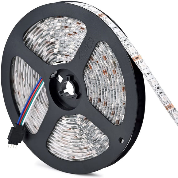 16ft RGB LED Light Strip Roll - Waterproof - 12V