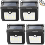 Wireless Solar Motion Sensor Light, Waterproof with 28 LEDs - 4 Pack