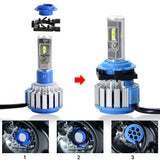 H7 LED Headlight Bulb Holder Adapter