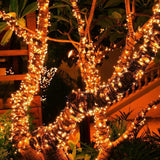 Mini Warm White LED Solar Powered String Light - 200 LED - 72ft