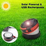 Solar LED Camping Lantern Collapsible & Rainproof