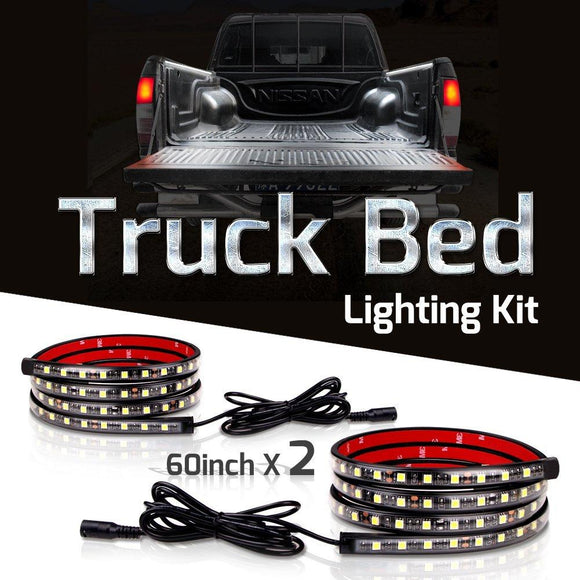 Truck Bed LED Lighting Kit - 180 LED - 2400 Lumen