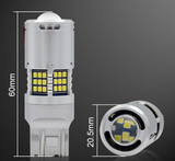 7443 Canbus LED Bulb - 60 SMD LED with Lens (2 pack)