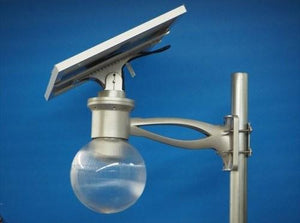 Solar Powered Street / Path LED Light - 1440 Lumen - 8W