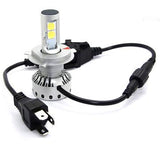 Premium H13 (9008) LED Headlight/Fog Light Conversion Kit with External Drivers - 10,000 Lumen/Set