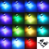 194, 168, T10 LED Bulbs - 12 SMD LED - 2 Pack w/Remote