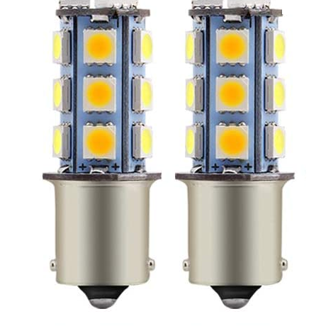 1156 LED Bulbs for RV/Trailer - 18 SMD (2 Pack)
