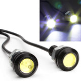 18mm COB LED Eagle Eye - Yellow (2 Pack)