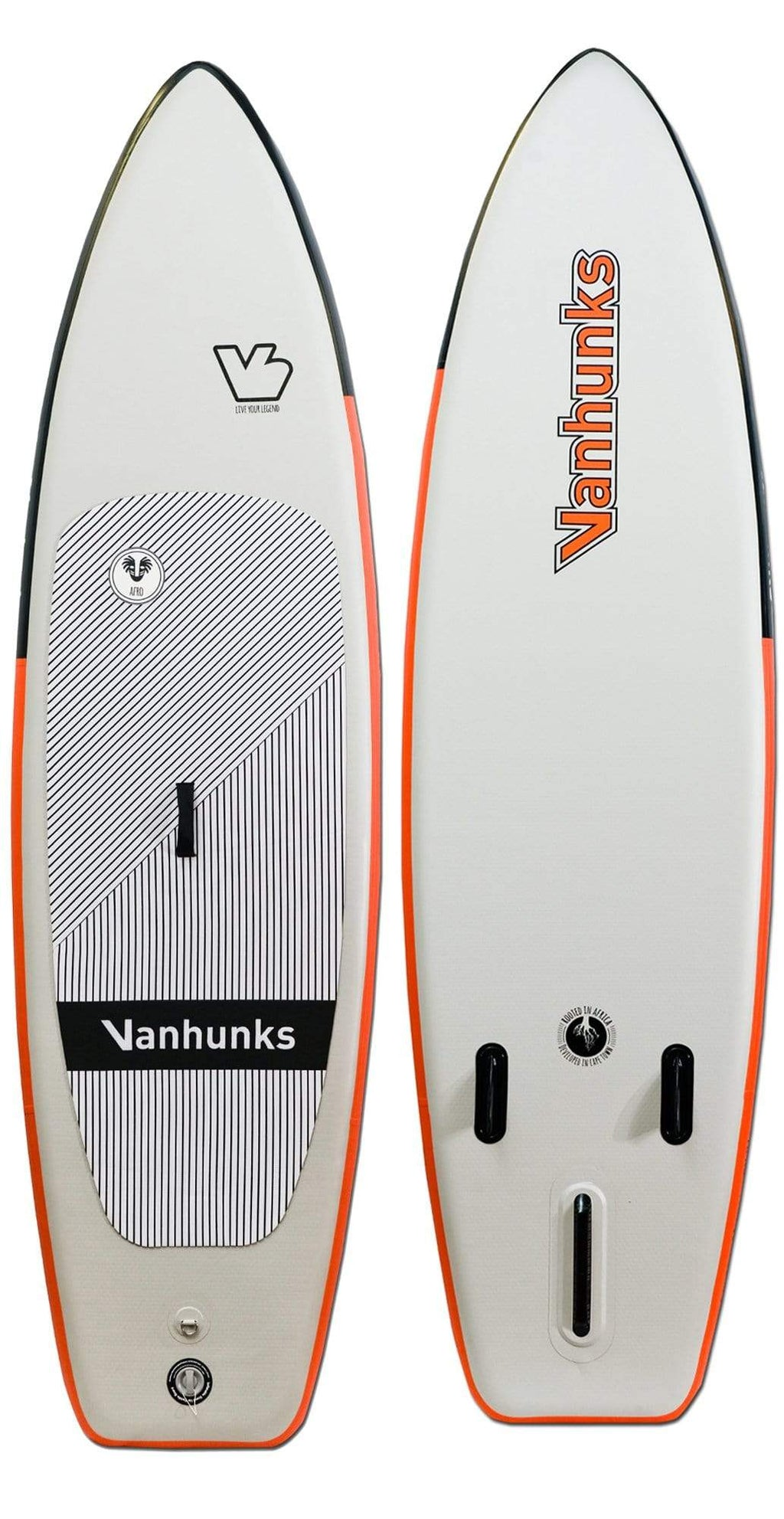 Vanhunks Afro Inflatable SUP