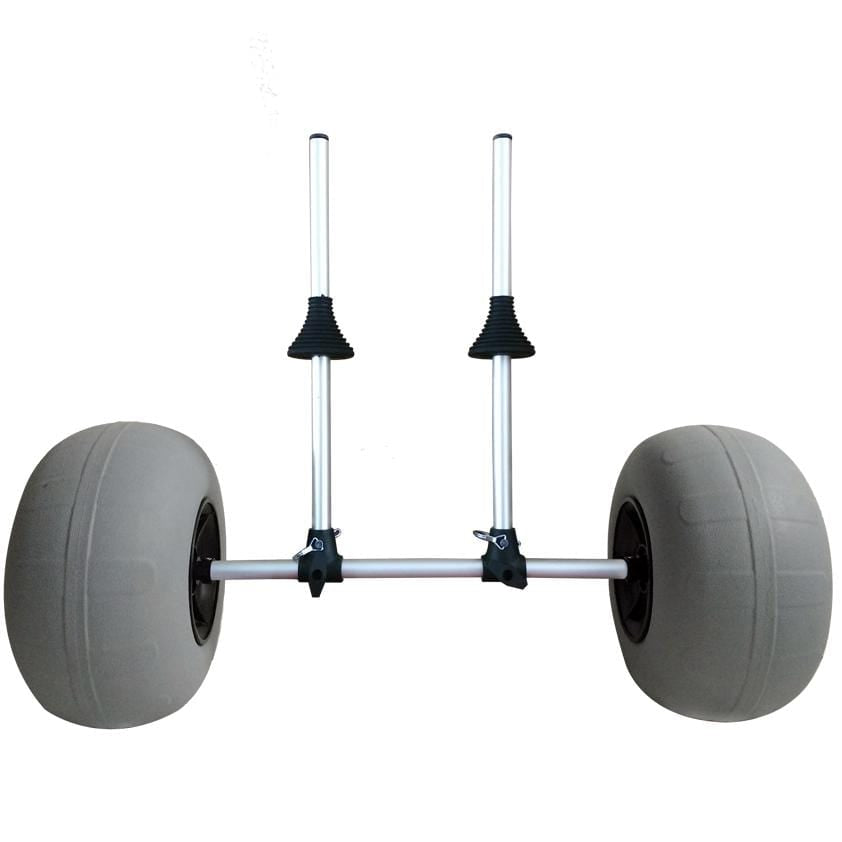 Vanhunks Kayak scupper beach dolly with inflatable wheels