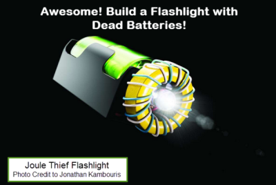 How to Build a Flashlight with Dead Batteries