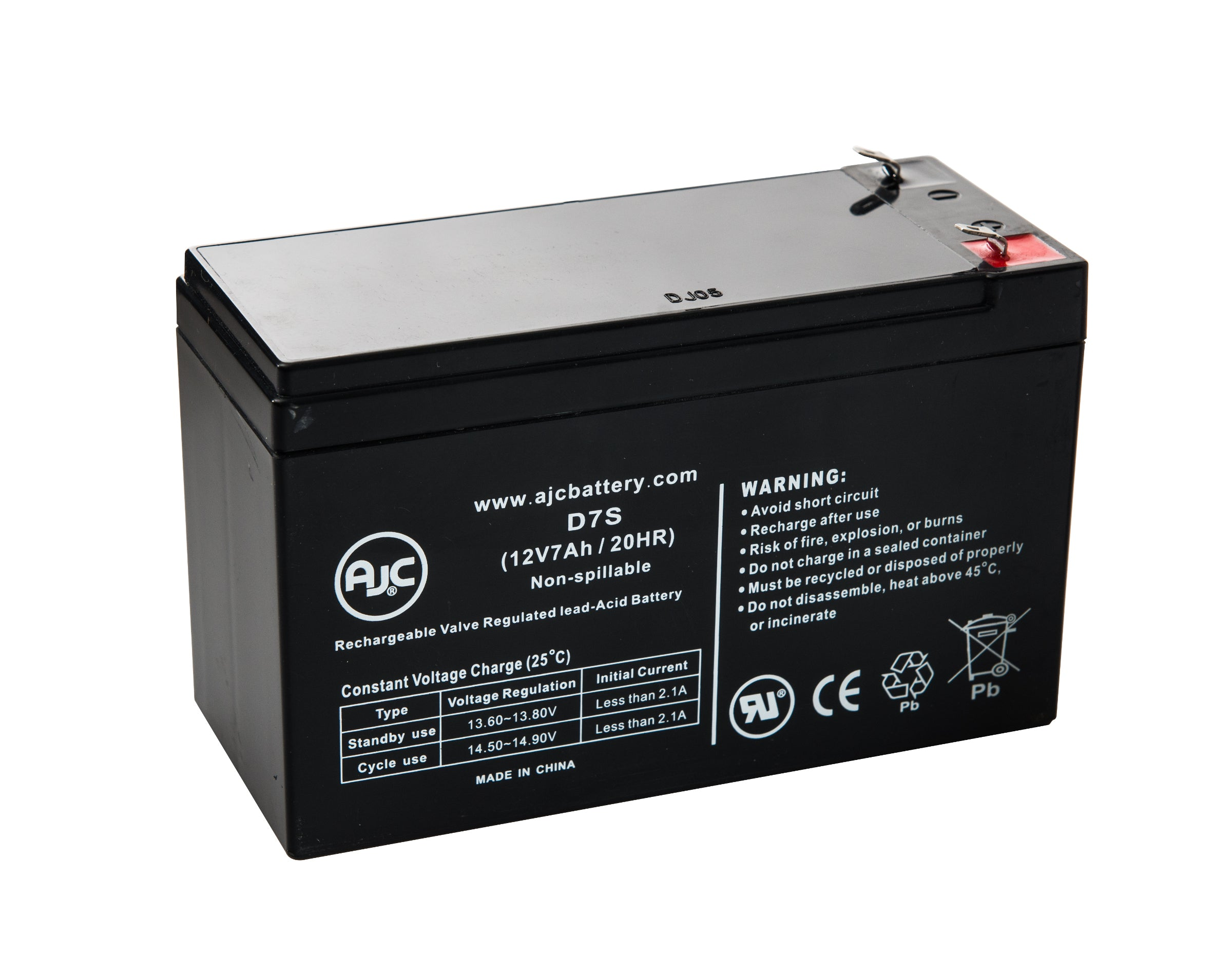 Mighty Max Battery 12V 7.2AH Replacement Battery for APC SUVS420-4 Pack Brand Product