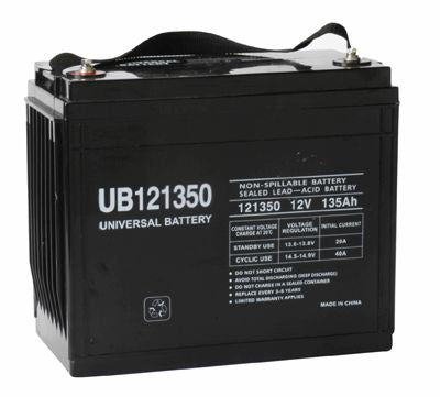 UPG 12V 135Ah Sealed Lead Acid - AGM - VRLA Battery - I6
