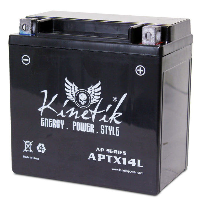 Yuasa YTX14L-BS Replacement Battery