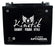 Bombardier 800cc Freeride Snowmobile Replacement Battery Years 2011 2012: BatteryClerk.com