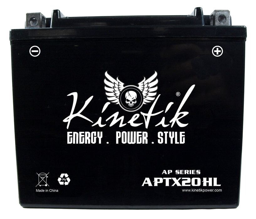 Arctic Cat ZR 6000 600cc Snowmobile Replacement Battery (2014-2018)