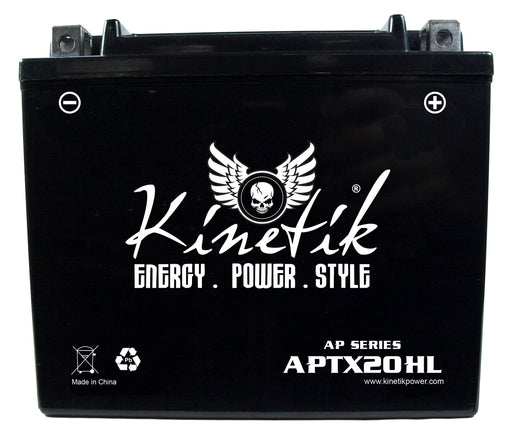 Big Dog 1750cc Chopper DT Motorcycle Replacement Battery Year 2004: BatteryClerk.com