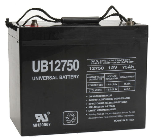 UPG 12V 75Ah Sealed Lead Acid - AGM - VRLA Battery - I4
