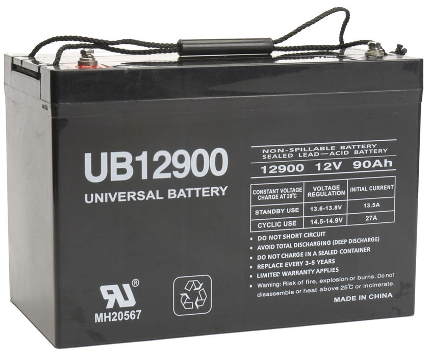 Deka Unigy 27HR3500S 12V 90Ah UPS Battery