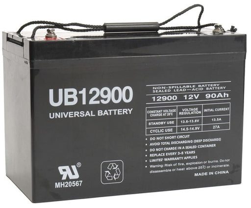 Cub Cadet Zero-Turn Radius Riders The Tank M 72 12V 90Ah Lawn and Garden Replacement Battery