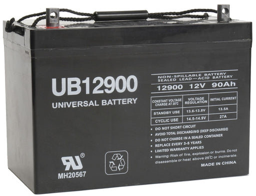 UPG 12V 90Ah Sealed Lead Acid - AGM - VRLA Battery - Z1