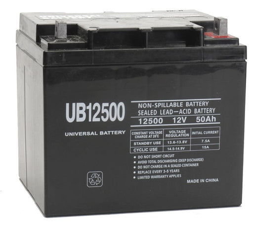 UPG 12V 50Ah Sealed Lead Acid - AGM - VRLA Battery - L2