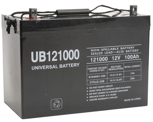 UPG 12V 100Ah Sealed Lead Acid - AGM - VRLA Battery - Z1