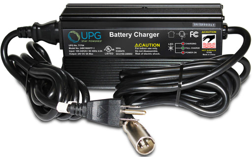 UPG 24V 5A SLA with Fan - Battery Charger