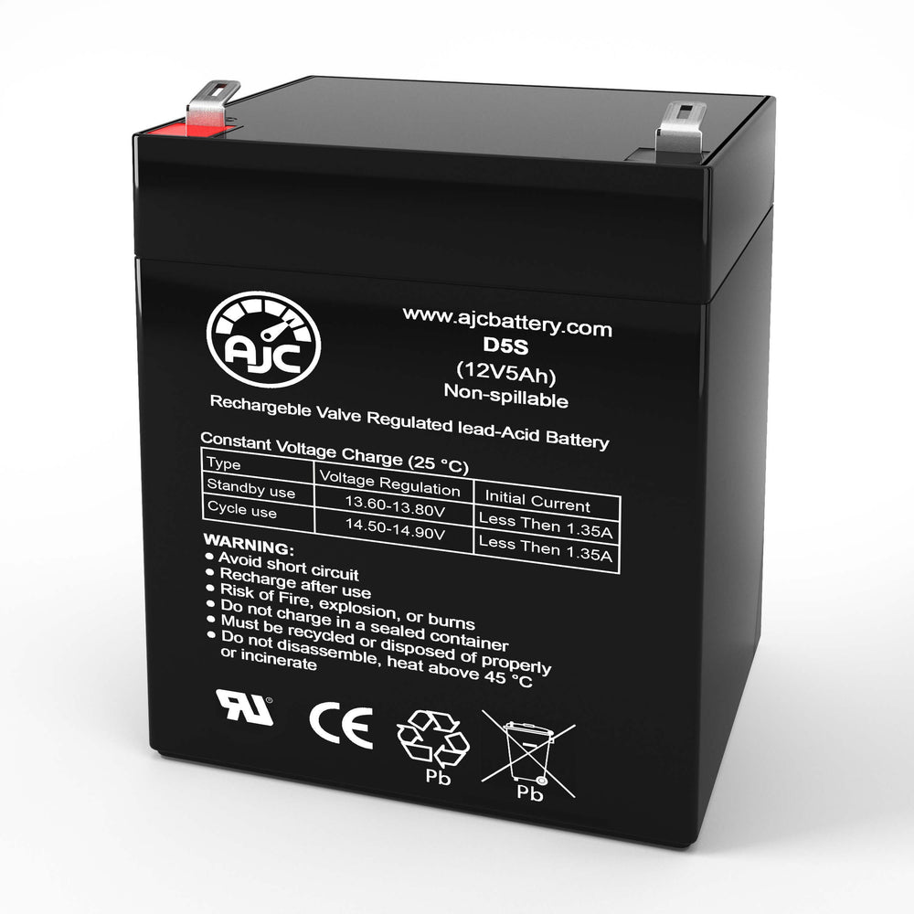 Belkin F6H F6H500 12V 5Ah UPS Replacement Battery