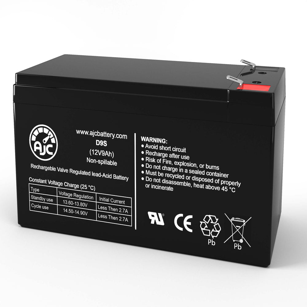 APC Back-UPS Back-UPS BE650G 12V 9Ah UPS Replacement Battery